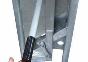 auto yoke fold handle