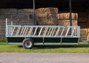cattle feed trailer