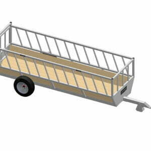 cattle feeding trailer