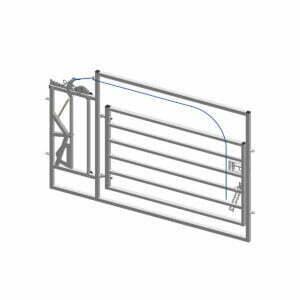 long calving gate hurdle