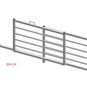 railed sliding hurdle