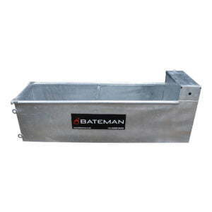 standard water trough welded end