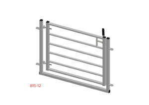 swing gate in frame 815-12